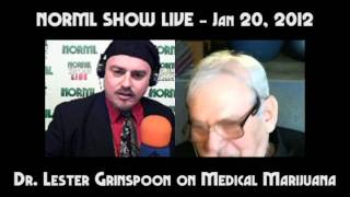 Dr. Lester Grinspoon On Medical Marijuana: Past, Present And Future