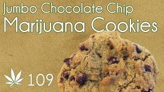 Jumbo Classic Cannabis Chocolat chip Cookie