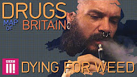 Drugs Map Of Britain Dying For Weed